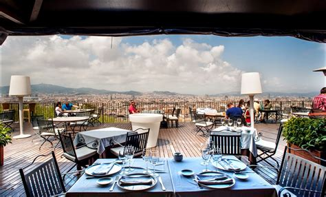 best restaurants in barcelona restaurant with the best view of barcelona