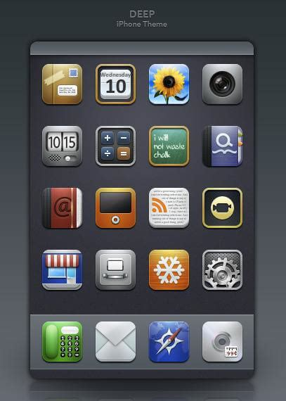 themes for icons on iphone free iphone 5s 5c 5 4s 4 theme icons for 2014 christmas