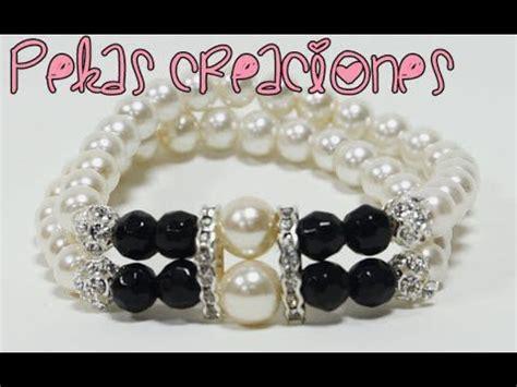 como hacer pulseras con perlas 17 best images about bellos tutoriales de collares