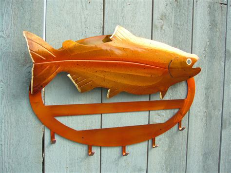 Salmon Rack by Metalartwelcomesigns Shock N Awe Metal Works