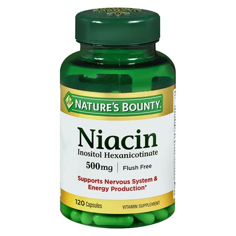 Does Niacin Work To Detox Majuana by Pics For Gt Niacin Flush Pills Test