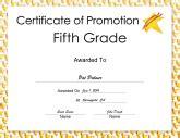 5th grade graduation certificate template diplomas free printable certificates