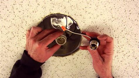 How To Install Can Lights In An Existing Ceiling How To Install Led Recessed Lighting Retrofit Trim For 5