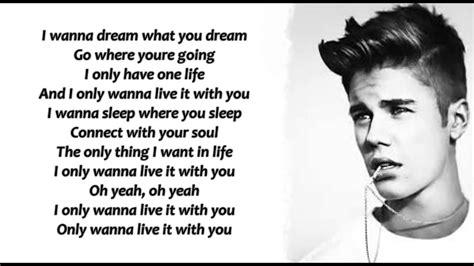 justin bieber one life mp3xd justin bieber one life lyrics youtube