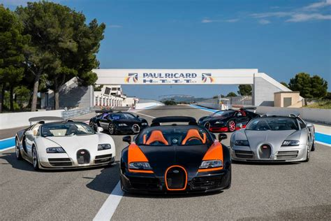 how many bugattis are in the us celebrating 10 years of the bugatti veyron gtspirit