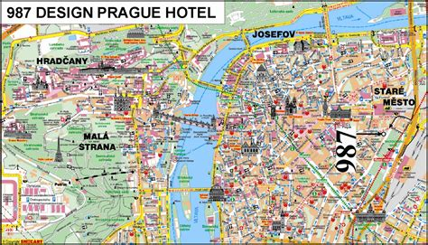 printable map prague prague czech republic tourist map prague mappery