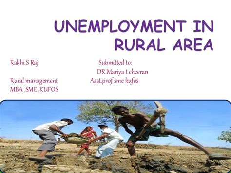 Mba Unemployment In India by Unemployment In Rural Area