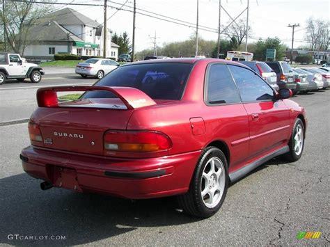 subaru coupe rs 2000 sedona pearl subaru impreza 2 5 rs coupe 8195581