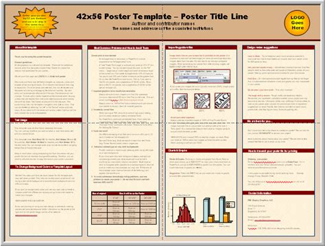 Posters4research Free Powerpoint Scientific Poster Templates Template Powerpoint Poster