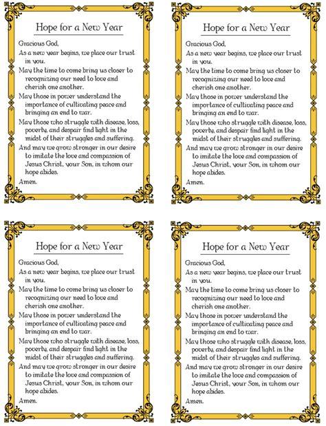 catholic prayer for new year new year prayer catholic catechist grab bag