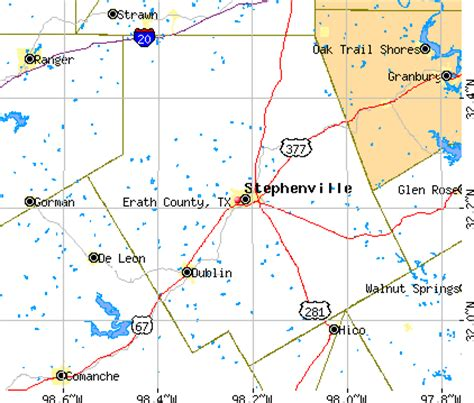 map of stephenville texas erath county texas detailed profile houses real estate cost of living wages work
