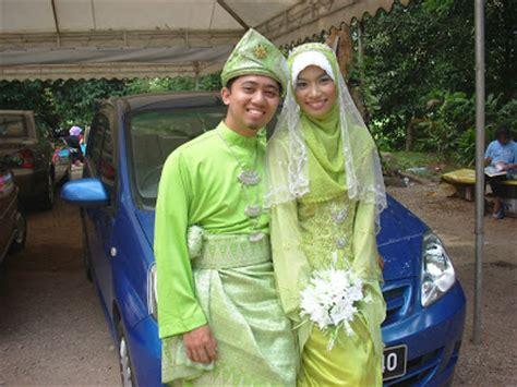 Baju Nikah Hijau Pucuk Pisang si merah jambu baju pengantin untik dijual hijau pucuk pisang