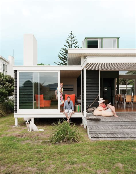 house design magazines nz this new zealand modern beach house is laid back cool