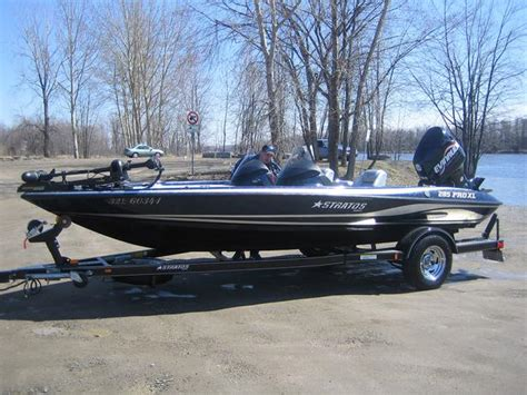 2005 stratos 285 pro xl bass boat original owner gatineau - Stratos Boat Owners Tournament