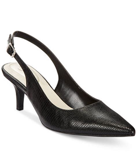 alfani s babbsy pointed toe slingback pumps only at