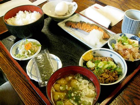 the traditional japanese breakfast menuism dining blog