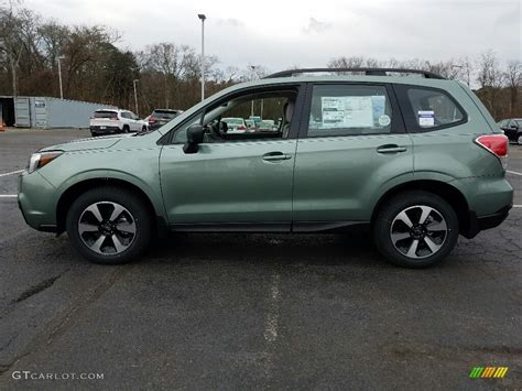 green subaru forester 2017 2017 green metallic subaru forester 2 5i