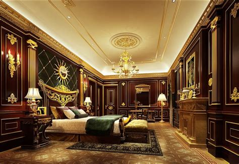 Luxury Bedroom Furniture 3d House Luxury Five Hotel President Room Lighting 3d House