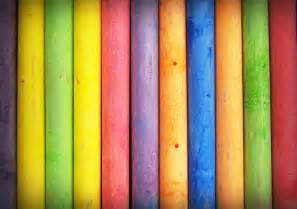closeup photo of multi color stick 183 free stock photo
