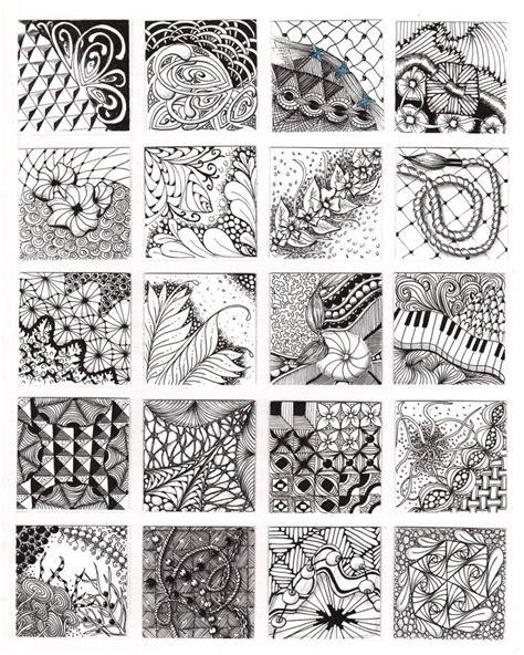 zentangle pattern basics zentangle basic patterns these are the following 20