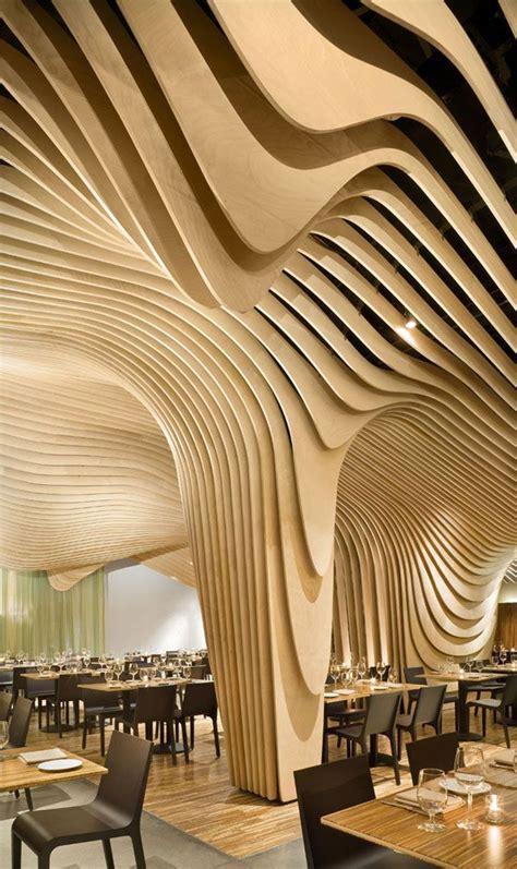 Amazing Ceiling Design Amazing Restaurant Interior Design Banq Restaurant In