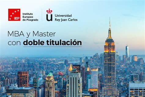 Mba Comercio Exterior by Master Iep En Comercio Internacional