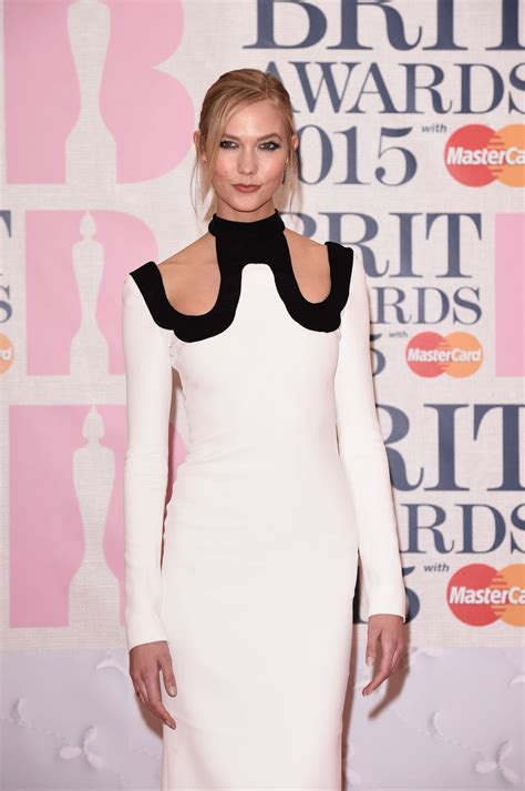 Brit Awards Fashion by Karlie Kloss In Tom Ford At The 2015 Brit Awards