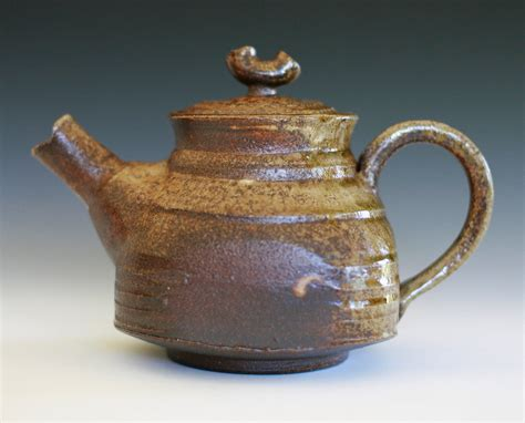 Handmade Ceramic Teapots - wood fired teapot handmade ceramic teapot ceramics and