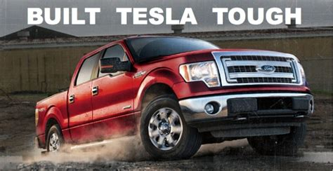 ford electric truck tesla to take on ford s f series with electric