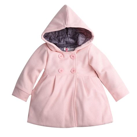 7 Best Pea Coats For Fall by 2017 New Baby Toddler Fall Winter Horn Button Hooded