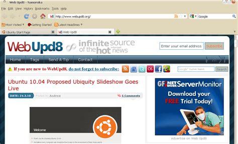 firefox themes xfce ubuntu radiance firefox theme web upd8 ubuntu linux blog