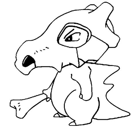 pokemon coloring pages of cubone coloring pages pokemon cubone drawings pokemon