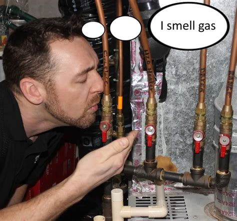 gas smell images