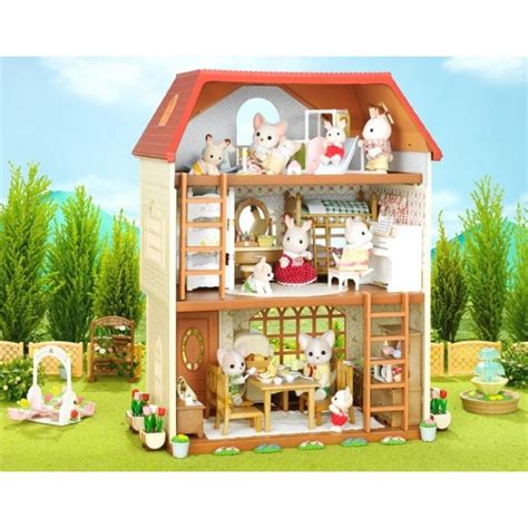 calico critters house sylvanian families calico critters 3 floor house ha 45 from japan ebay
