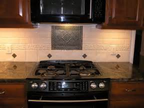 decorative backsplashes kitchens kitchen backsplash stove medallion show me your