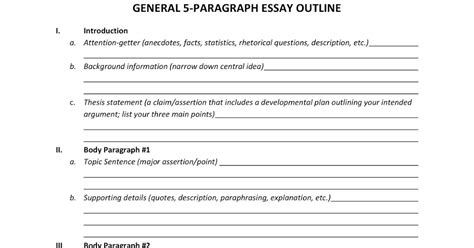 Write 5 Paragraph Essay by Ms Carroll S Reading And Writing Class 5 Paragraph