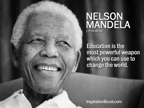mandela education quote education is key lowvelder