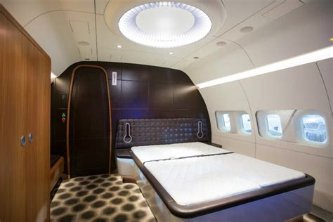 private jet with bedroom luxury living best private jet interior designs