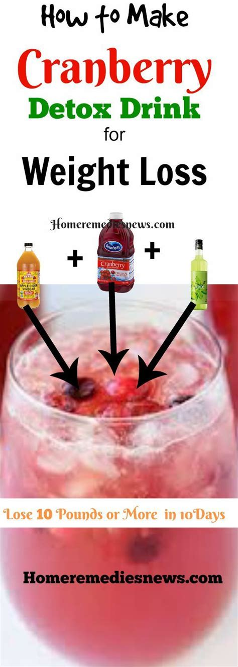 How To Cranberry Juice Detox by How To Make Cranberry Juice Detox Diet Drink For Weight