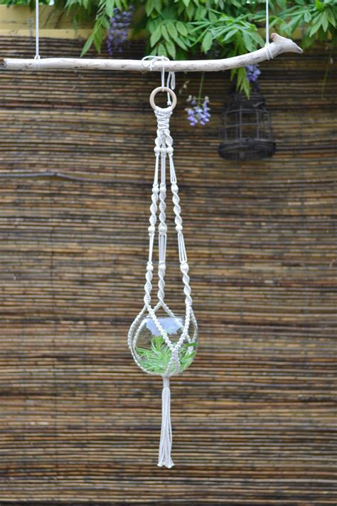 Hanging Plant Holders Macrame - macrame plant hanger plant holder hanging planter home