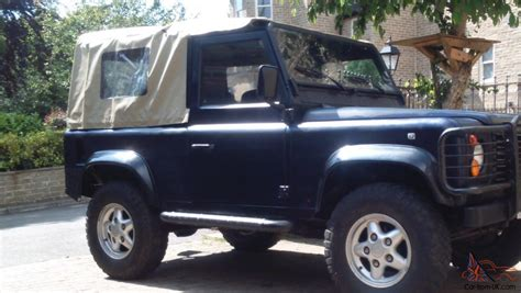 land rover defender convertible for sale land rover defender 90 convertible 1997