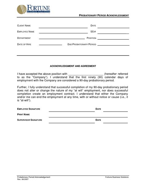 90 day review template best photos of 90 day probationary form 90 day employee