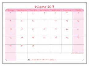 Calendario 2018 Mes De Outubro Calend 225 Rios Para Imprimir Outubro 2017 Brasil