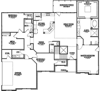 popular home plans most popular floor plans of 2014