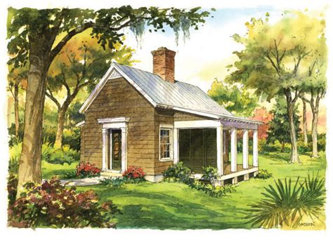 Small Backyard House Plans by Garden Cottage Southern Living House Plans