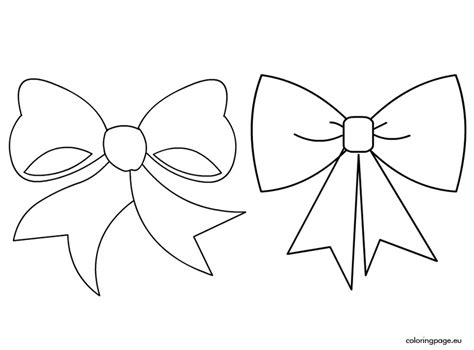 22 pictures bow coloring page gekimoe 59486