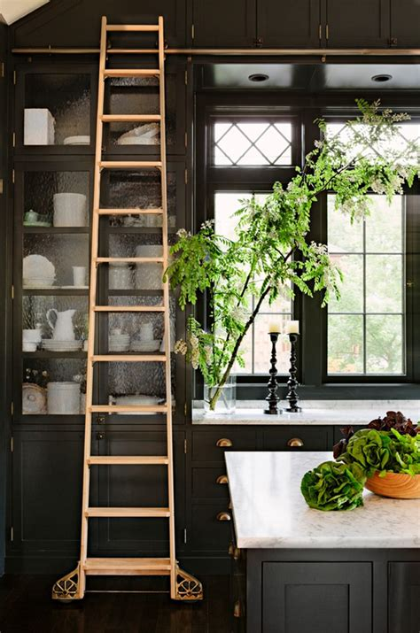 Kitchen Ladder by Brass Hardware And Fixtures Are Back