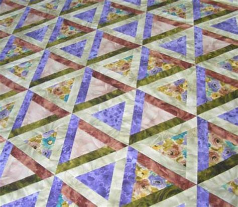 Triangle Patchwork Quilt Patterns - triangle patchwork quilt pattern sew equilateral triangles