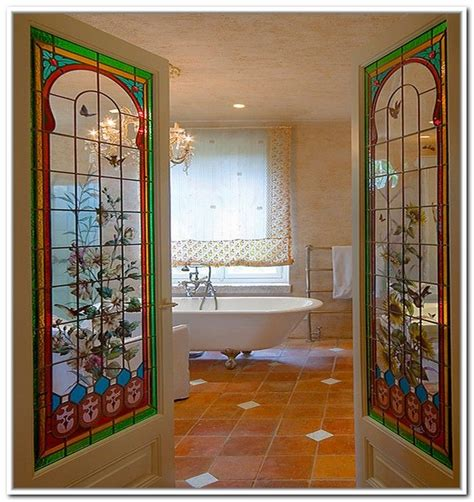 stained glass doors interior 1000 images about stained glass on