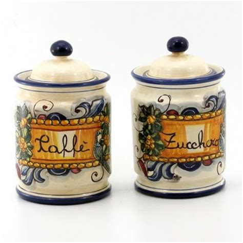 italian kitchen canister sets